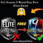 free season 9 royal pass free