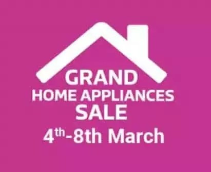 Flipkart Grand Home Appliances Sale