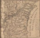 Map of Dobruca by Castelli Da Vıgnola (1686)
