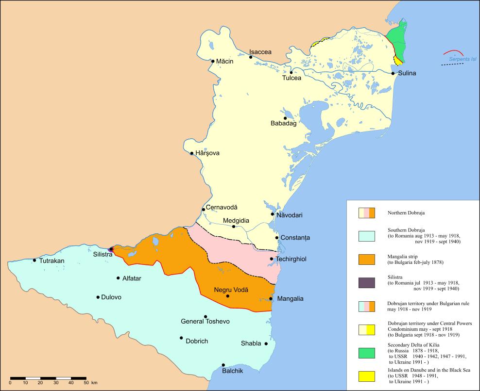 Dobruca (Dobrogea) maps (4/6)