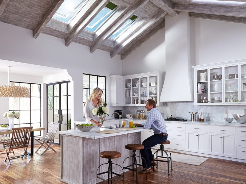 VELUX Electric  Fresh Air  Skylight   Electric Skylight Products Electric Fresh Air Skylights Hero 1