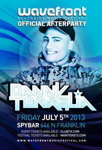 Danny Tenaglia @ Spybar Chicago 7.5.13 Wavefront Official After-Party