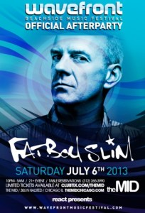 Fatboy Slim @ The MID Chicago 7.6.13 Wavefront Official After Party