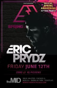 eric prydz friday june 12