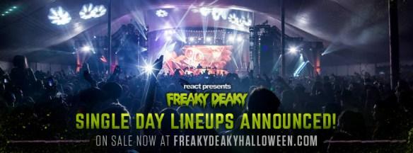Freaky Deaky Daily Lineups