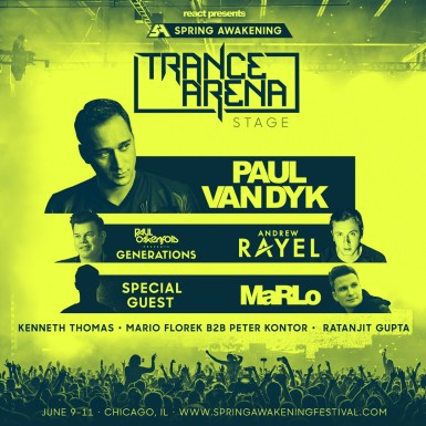 trance arena stage