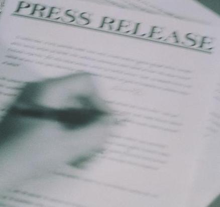 The news release... your link to the media!