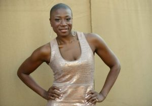 In this July 29, 2013 file photo, Aisha Hinds arrives at the CBS, CW and Showtime TCA party in Beverly Hills, Calif. (Photo by Jordan Strauss/Invision/AP, File)