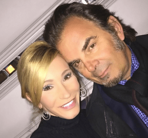 (PHOTO: INSTAGRAM/JONATHANCAINMUSIC) Jonathan Cain poses with wife Paula White while out with friends in London, September 2016.