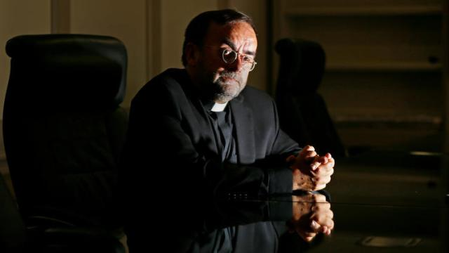 Catholic priest and anti-genocide advocate Father Patrick Desbois has created a new initiative to document Islamic State's persecution of the Yazidi people. (Luis Sinco / Los Angeles Times)