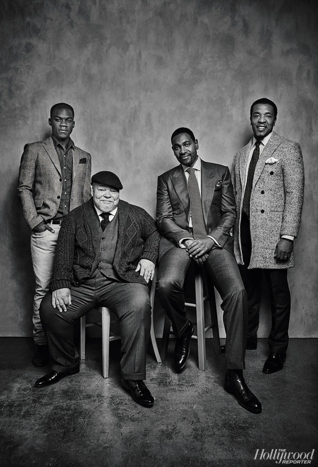 David Needleman From left: Adepo, Henderson, Williamson and Hornsby were photographed Nov. 13 at Quixote Studios in Los Angeles. All but Adepo reprised their roles in the film from the Tony-winning Fences revival in 2010.