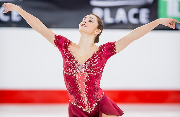 Kaetlyn Osmond performs her long program at the 2017 Canadian Figure Skating Championships.