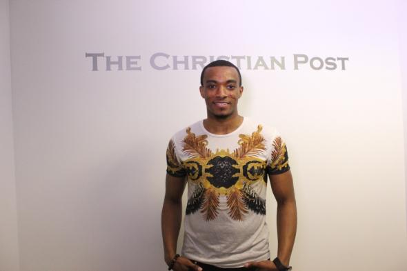 (PHOTO: SCOTT LIU/ THE CHRISTIAN POST) Gospel Singer Jonathan McReynolds visits The Christian Post on August 10, 2015.