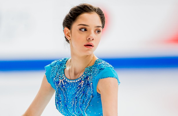 Russia's Evgenia Medvedeva performs her Short Program at the 2017 World Figure Skating Championships.