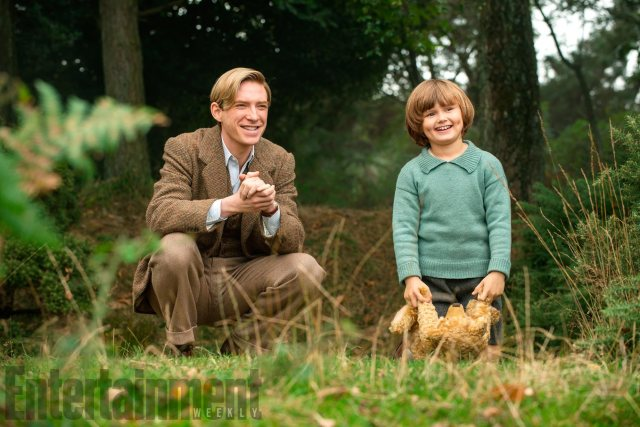 Goodbye Christopher Robin Domhnall Gleeson and Will Tilston DAVID APPLEBY/FOX SEARCHLIGHT
