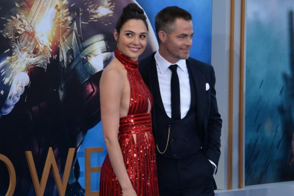 Cast Members Chris Pine And Gal Gadot Attend The Premiere Of Wonder Woman In