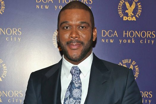 NEW YORK, NY - OCTOBER 15: Honoree director Tyler Perry, poses with award at the DGA Honors 2015 Gala on October 15, 2015 in New York City. (Photo by Jemal Countess/Getty Images for DGA)