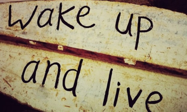 Wake Up! 3 Books To Help You Wake Up And Live Your Life