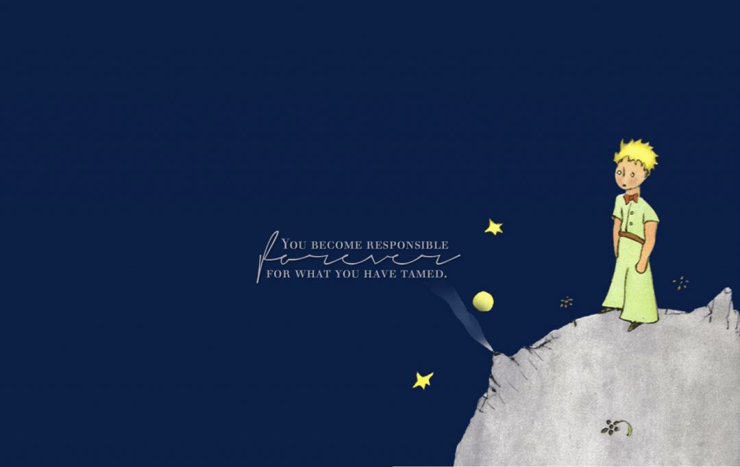 The Little Prince Book Wallpaper