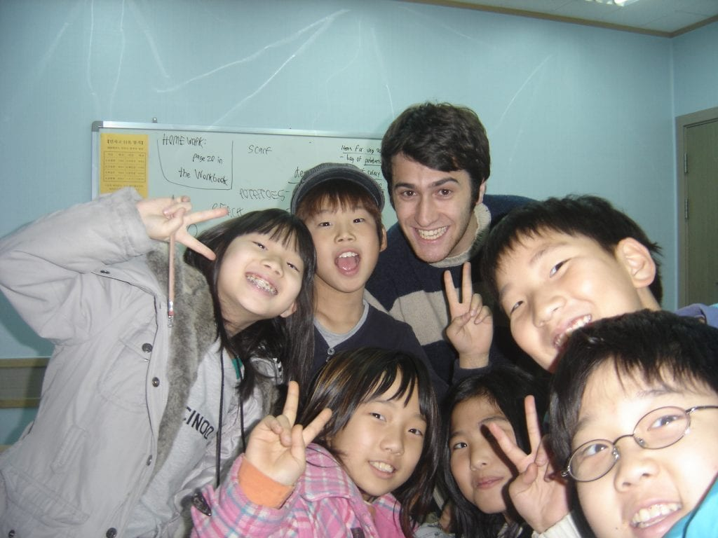 teach english in korea
