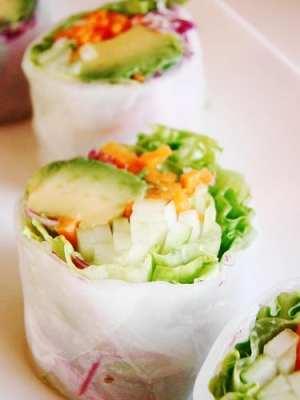 Vegan California Roll in Rice Paper - Eating Vegan on the Road