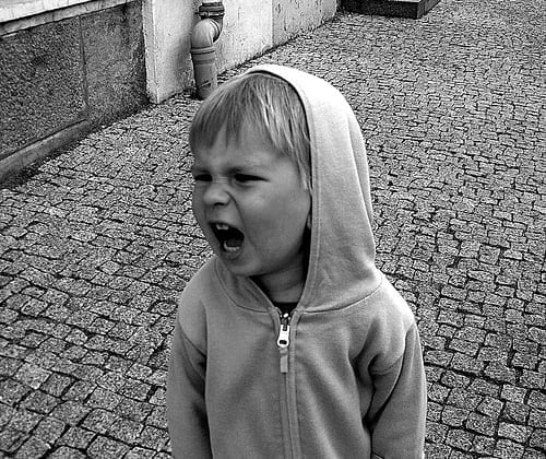 An Child Screaming - Safety Tips for Travel