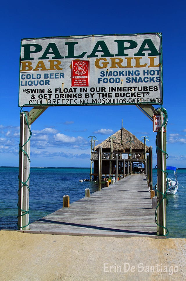Palapa Bar & Grill on Ambergris Caye in Belize