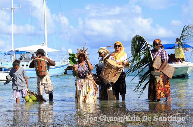 Garifuna reenactment ceremony