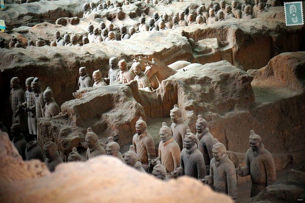 The Terracotta Warriors in Xi'an