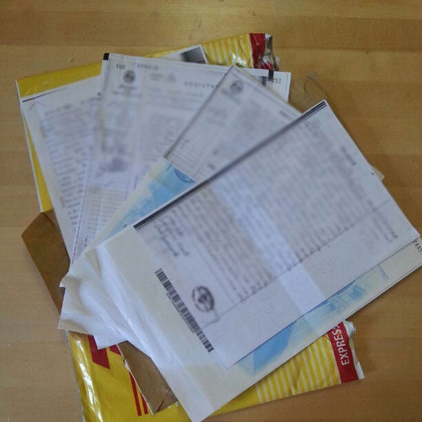 Argentina Documents - All the documents I needed from Argentina to apply for Italian citizenship