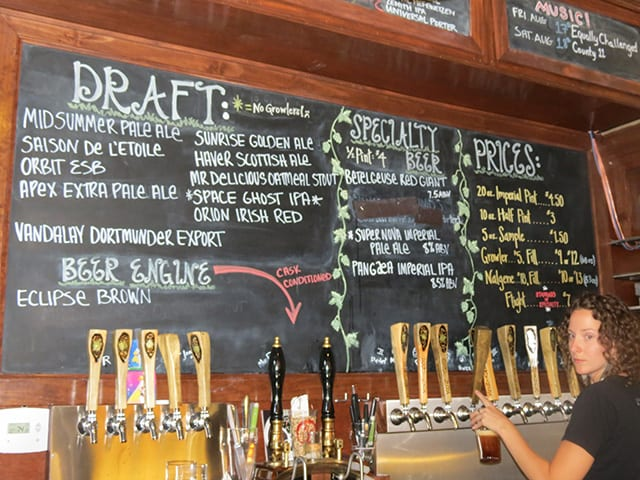 Fort Collins Beer Selection