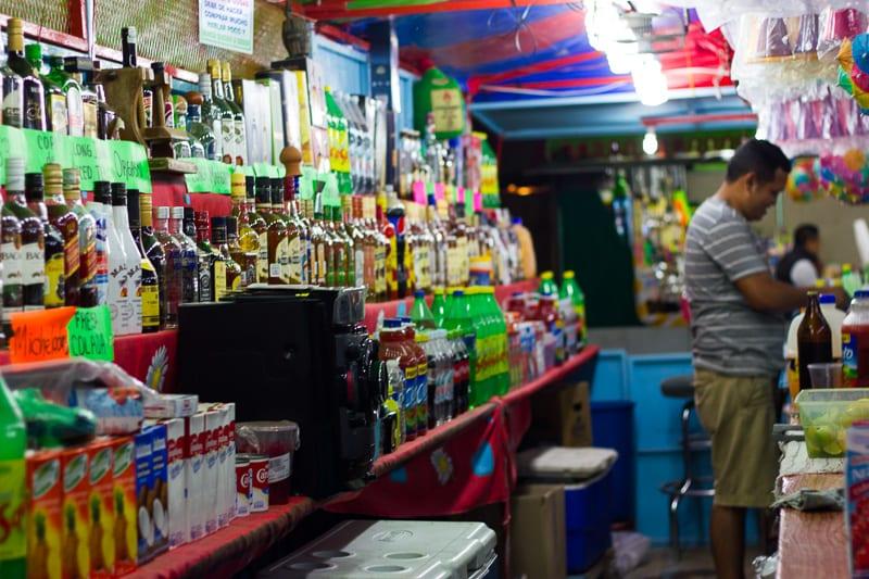 The Back Bar at Sayulita Days Carnival
