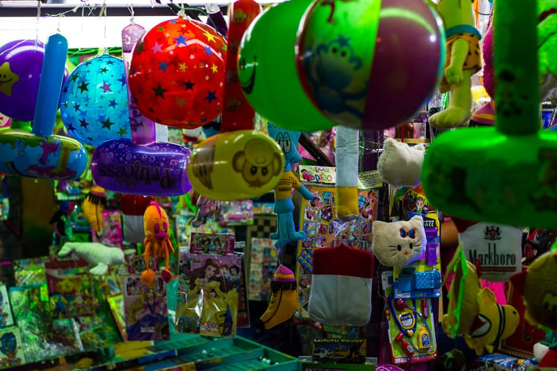 Balloons and Prizes at Sayulita Days Carnival