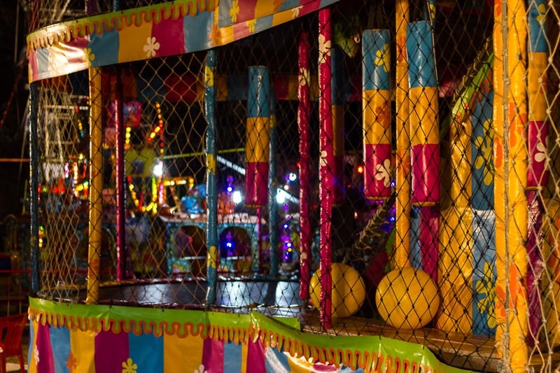 Carnival Rides at Sayulita Days in Mexico