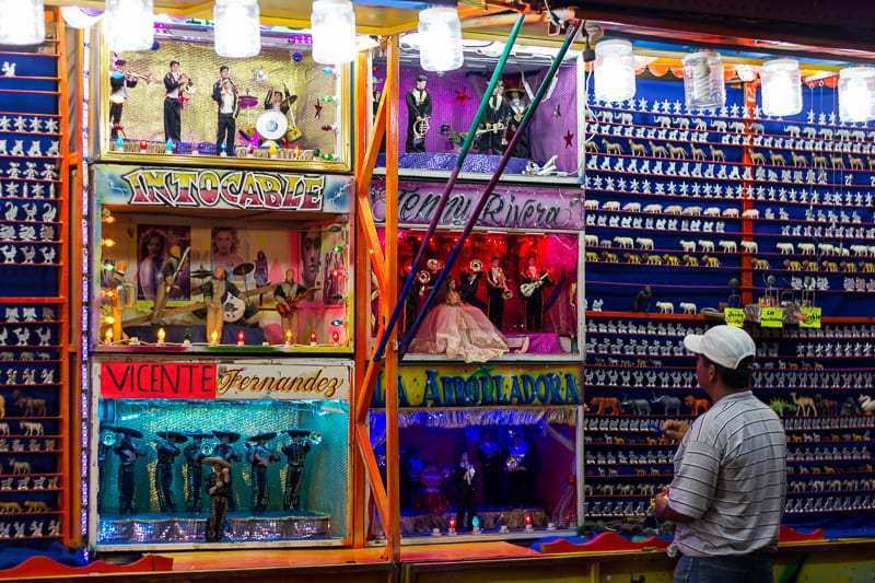 Wall of Prizes at Sayulita Days in Mexico