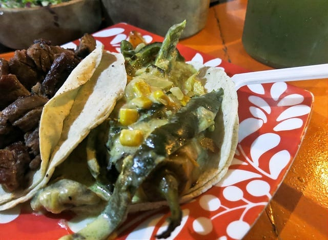 Chile Relleno Taco - The Best Sayulita Restaurants for Mexican Food