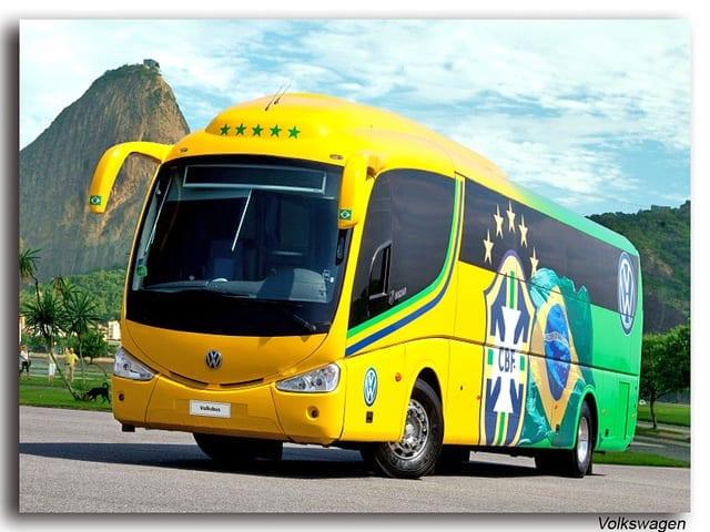 A Bus in Rio - Carnaval in Brazil