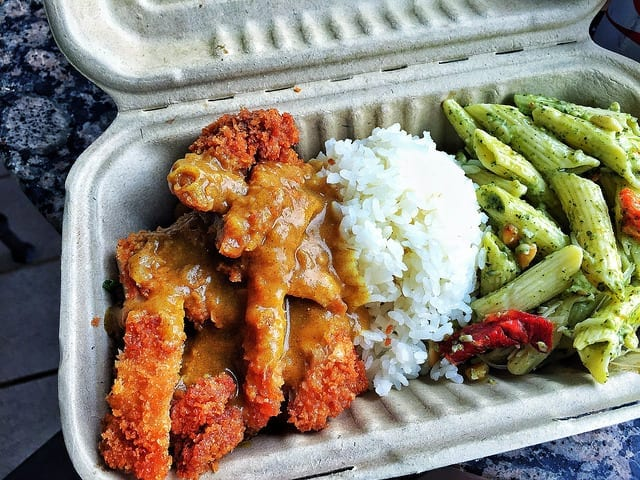 Chicken Katsu Plate at Honolua Store - Where to Eat in Maui