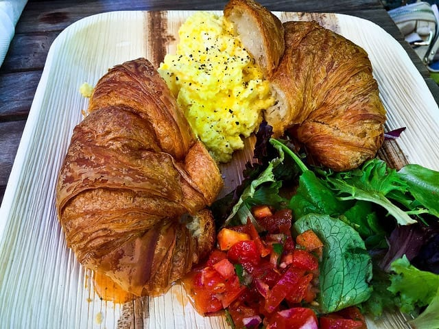 Breakfast Croissant at Paia Bay Cafe - Where to Eat in Maui