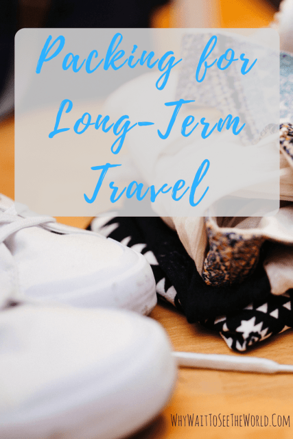 Packing for Long-Term Travel
