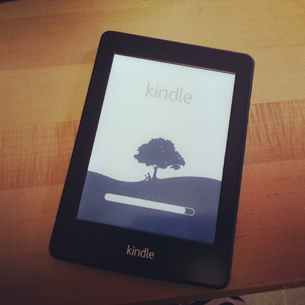 My Kindle Paperwhite Loading