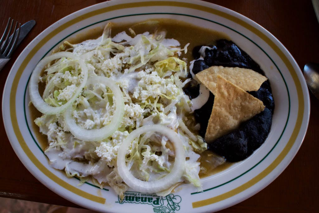 Enchiladas in Mexico