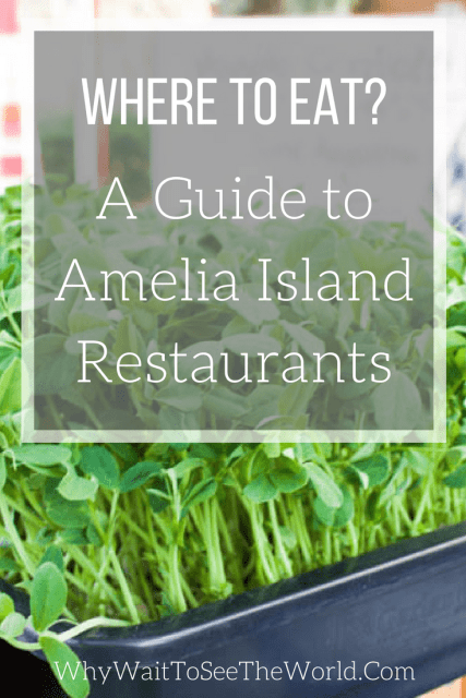 A Guide to Amelia Island Restaurants