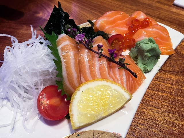 Sushi in Japan - The Best Part of Travel During Second Trimester? Your Appetite Comes Back!