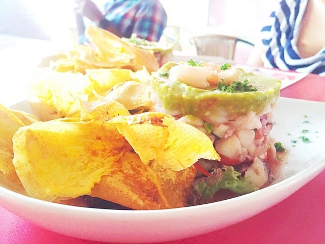 Ceviche at La Cevicheria in Cartagena - Things to do in Cartagena