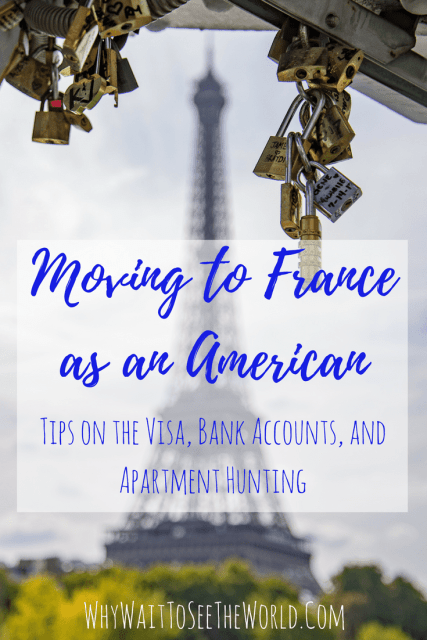 Moving to France as an American