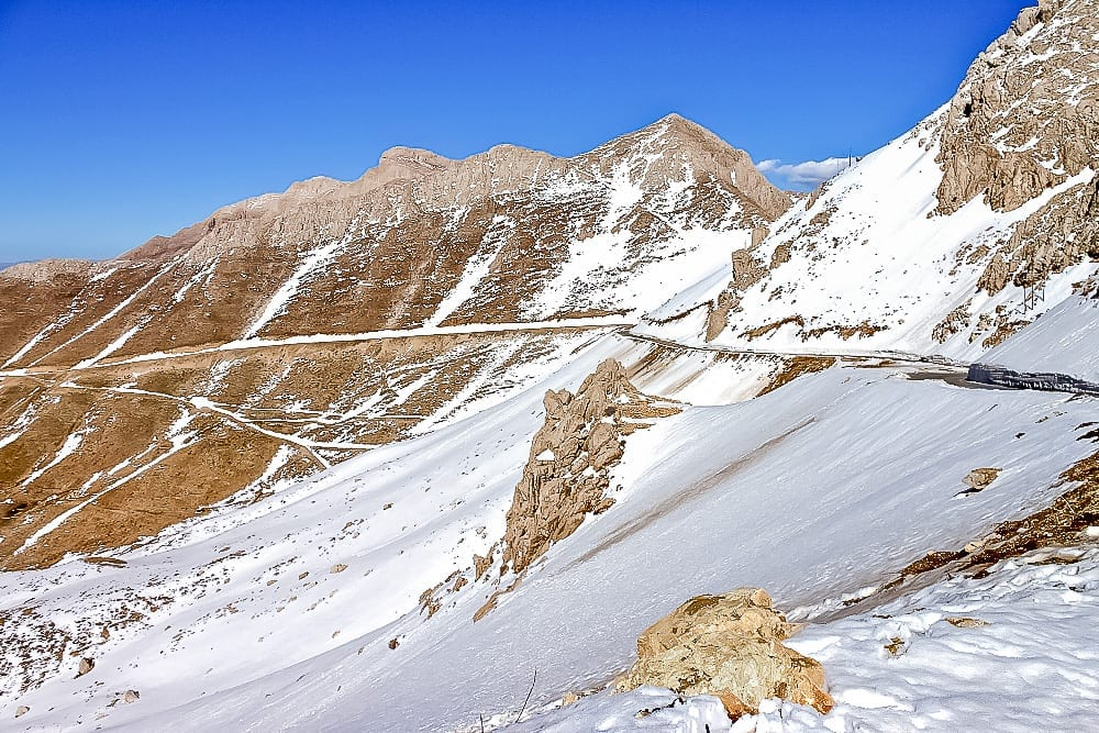 Snowy Mountains in Kurdistan - Solo Female Travel in Iran