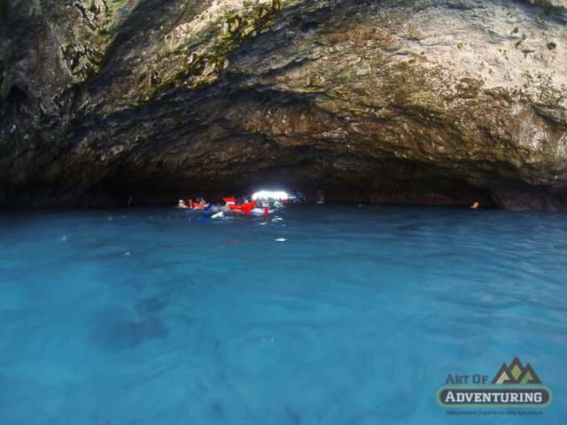 Swimming to Reach Marieta Islands and the Hidden Beach