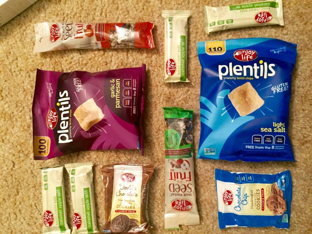 Enjoy life gluten free travel snacks