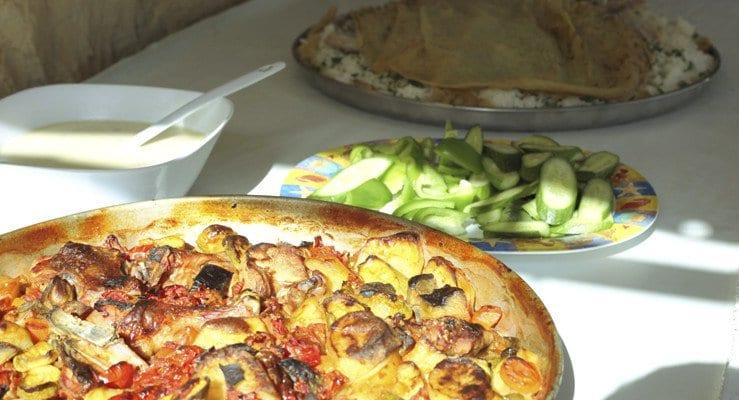Lunch in Jordan - Positive Experiences in Muslim Countries